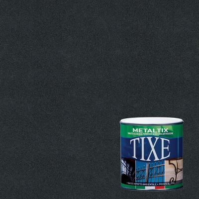 Smalto per ferro antiruggine Tixe Metaltix antracite antichizzato 2,5 L