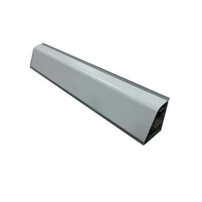 Alzatina su misura Porfido laminato nero H 10 cm