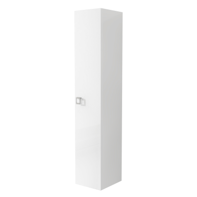 Colonna Florida bianco 1 anta L 30 x H 158 x P 33,5 cm
