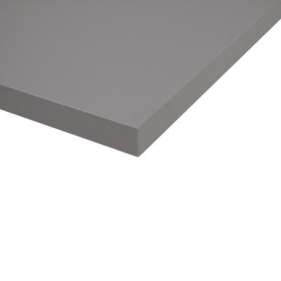 Alzatina su misura alluminio Grigio Londra H 3 cm
