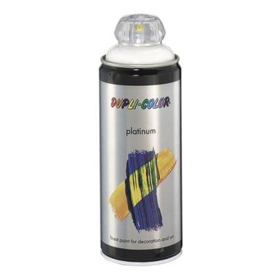 Smalto spray Platinum bianco RAL 9010 brillante 400 ml