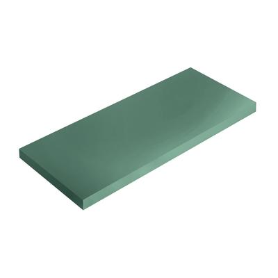 Mensola Spaceo verde L 56 x P 15,5, sp 1,8 cm