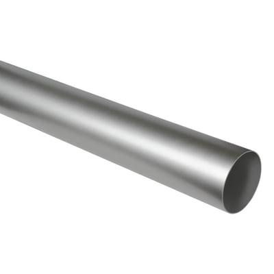 Tubo tondo Aerazione da cm 80 steel Ø 10 cm