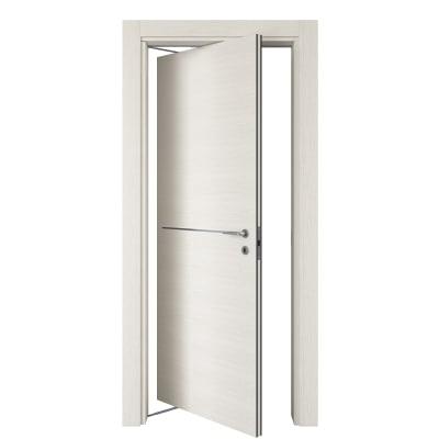 Porta da interno rototraslante Hollow bianco matrix 80 x H 210 cm sx