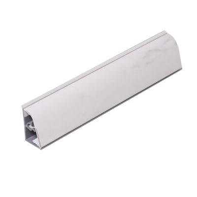 Alzatina PVC bianco L 300 x H 2,5 cm