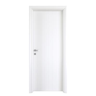 Porta da interno battente Pvc white bianco 70 x H 210 cm dx