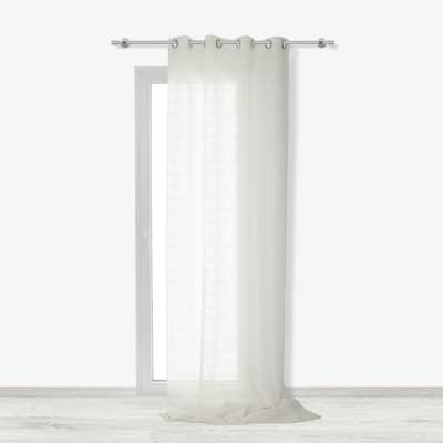 Tenda Clelia ecru 140 x 280 cm