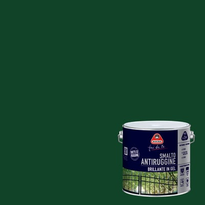 Smalto per ferro antiruggine Boero verde impero brillante 2 L