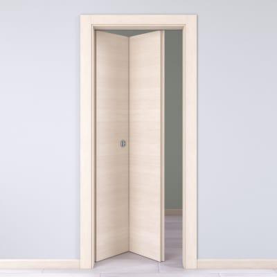 Porta da interno pieghevole Lucad Graf Matrix 70 x H 210 cm sx