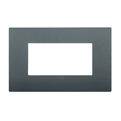 Placca 4 moduli Vimar Arké grigio