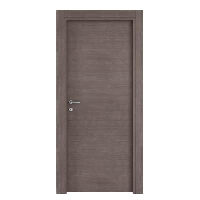 Porta da interno battente Autumn 80 x H 210 cm reversibile