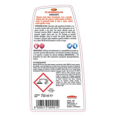 Sgrassatore Maggiordomo Smacchiatore universale FP2 750 ml