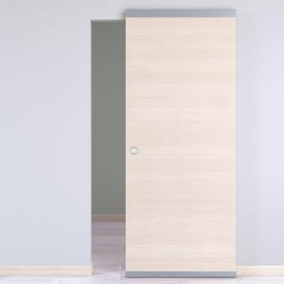 Porta da interno scorrevole Lucad Easy binario nascosto graf 91 x H 221 cm reversibile