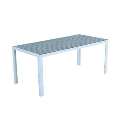 Tavolo Ischia, 180 x 86 cm bianco