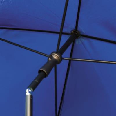 Ombrellone 2,25 x 1,9 m blu