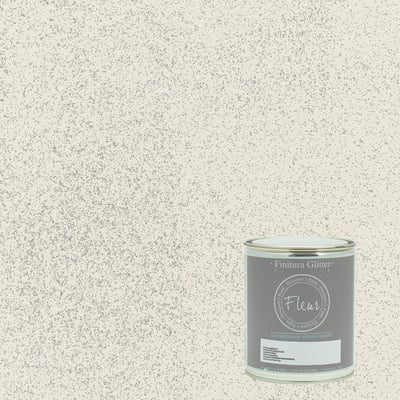 Finitura Fleur Silver glam argento glitter 750 ml