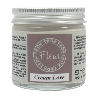 Idropittura traspirante cream love 50 ml Fleur