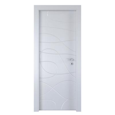 Porta da interno battente Wind white bianco 60 x H 210 cm sx