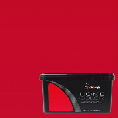 Idropittura lavabile Home Color scarlet 2,5 L Max Meyer