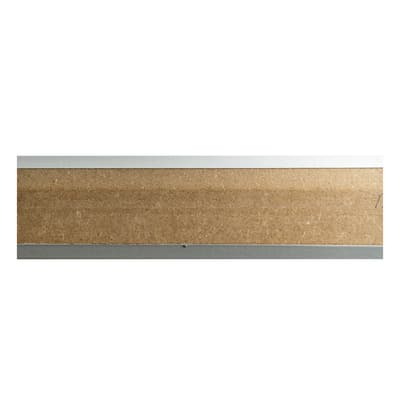 Battiscopa carta finish rivestito bianco 14 x 58 x 2200 mm