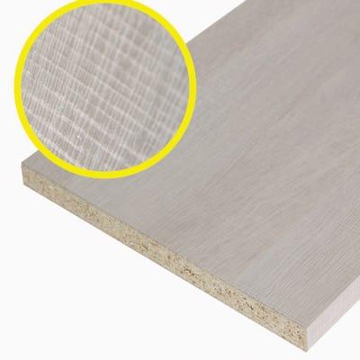 Pannello melaminico rovere chiaro 18 x 300 x 1200 mm