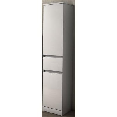 Colonna Elise bianco 2 ante, 1 cassetto L 30 x H 156 x P 33,5 cm