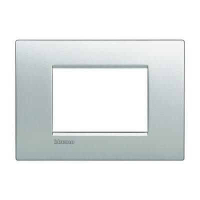 Placca 3 moduli BTicino Livinglight Air tech