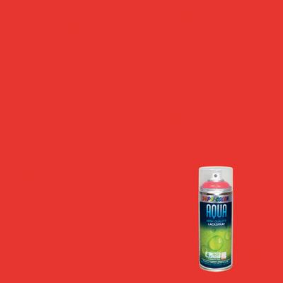 Smalto spray Aqua arancio scuro RAL 2002 Lucido 350 ml