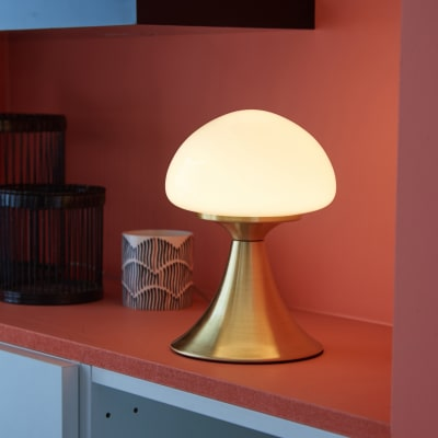 Lampada da comodino Inspire Kinoko LED integrato