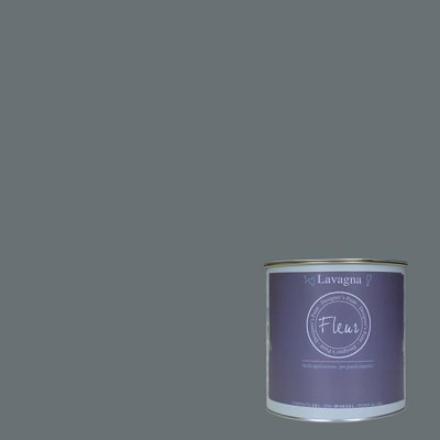 Pittura Effetto lavagna Fleur grigio 2.5 L