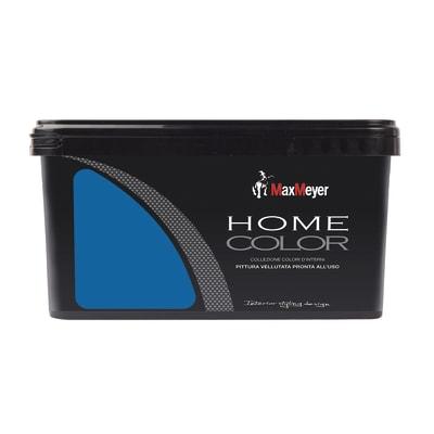 Idropittura lavabile Home Color oceano 2,5 L Max Meyer