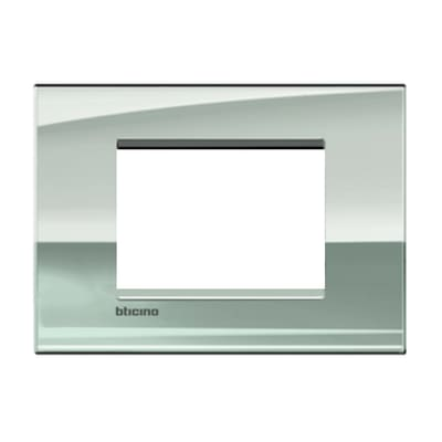 Placca 3 moduli BTicino Livinglight Air palladio