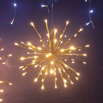 TWIGBall luminoso 80 minilucciole Led classica gialla 4 m