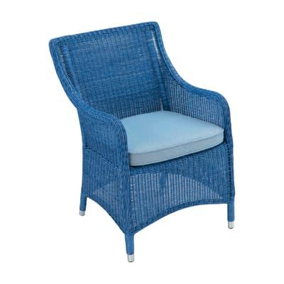 Poltrona Carolina blu