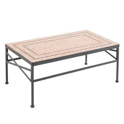 Tavolino New Gijon, 95 x 55 cm nero
