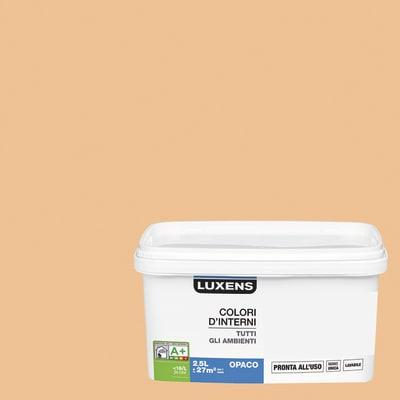 Idropittura lavabile Mano unica Marrone Cioccolato 5 - 2,5 L Luxens