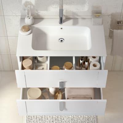 Mobile bagno Barocco bianco vintage L 85 cm prezzi e offerte online ...