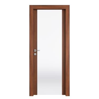 Porta da interno battente Alnitak noce nazionale 70 x H 210 cm dx
