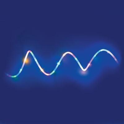 Tubo luminoso 100 minilucciole Led multicolore 5 m
