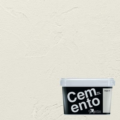 Pittura ad effetto decorativo Cemento Grigio 1 2 L