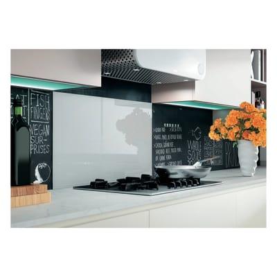 Pannello retrocucina vetro temprato L 60 x H 50 cm prezzi e offerte ...