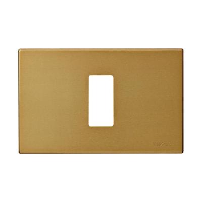 Placca 1 modulo Vimar serie 8000 bronzo
