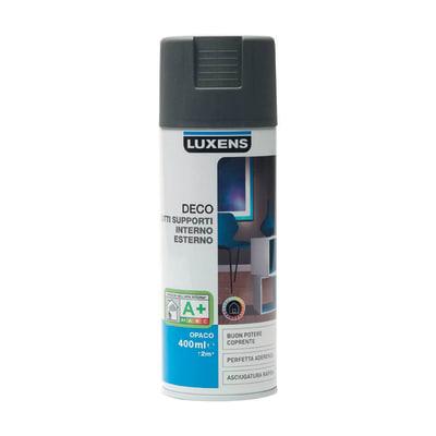 Smalto spray Deco Luxens Grigio Zincato 1 opaco 400 ml