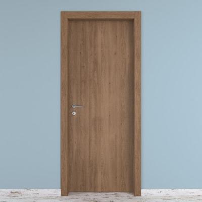 Porta da interno battente Aztec 90 x H 210 cm reversibile