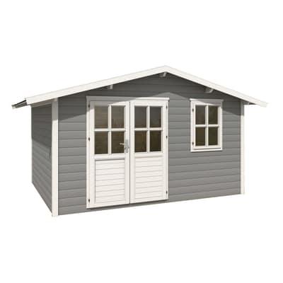 casetta in legno Salisburg 10,99 m², spessore 28 mm
