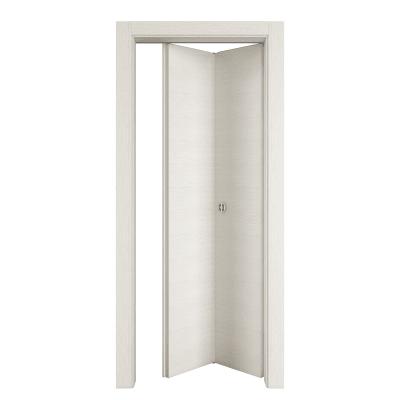 Porta da interno pieghevole Star Bianco Matrix 70 x H 210 cm dx