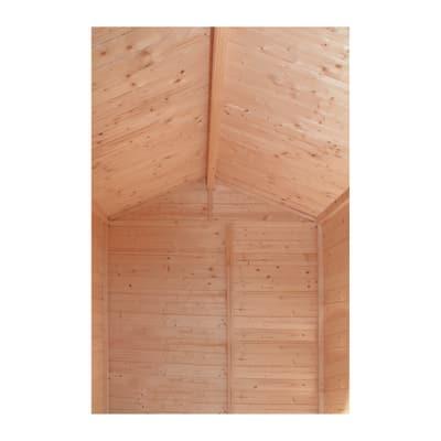 Casetta in legno grezzo tata 2 55 m spessore 14 mm prezzi e offerte online leroy merlin - Tavole legno grezzo leroy merlin ...