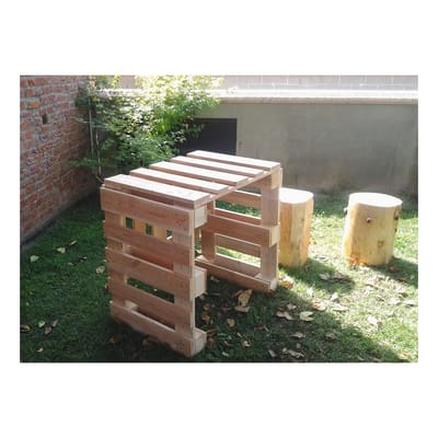 Pallet singolo legno l 120 x p 80 x h 14 5 cm grezzo prezzi e offerte online leroy merlin - Tavole legno grezzo leroy merlin ...