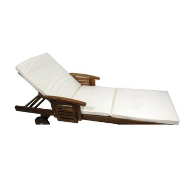 Cuscino lettino ecru 64 x 195 cm