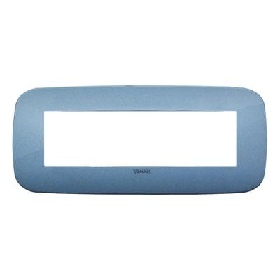Placca 7 moduli Vimar Arké blu